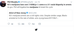 marijuana legalization, legal weed, phil murphy, new jersey, legal cannabis